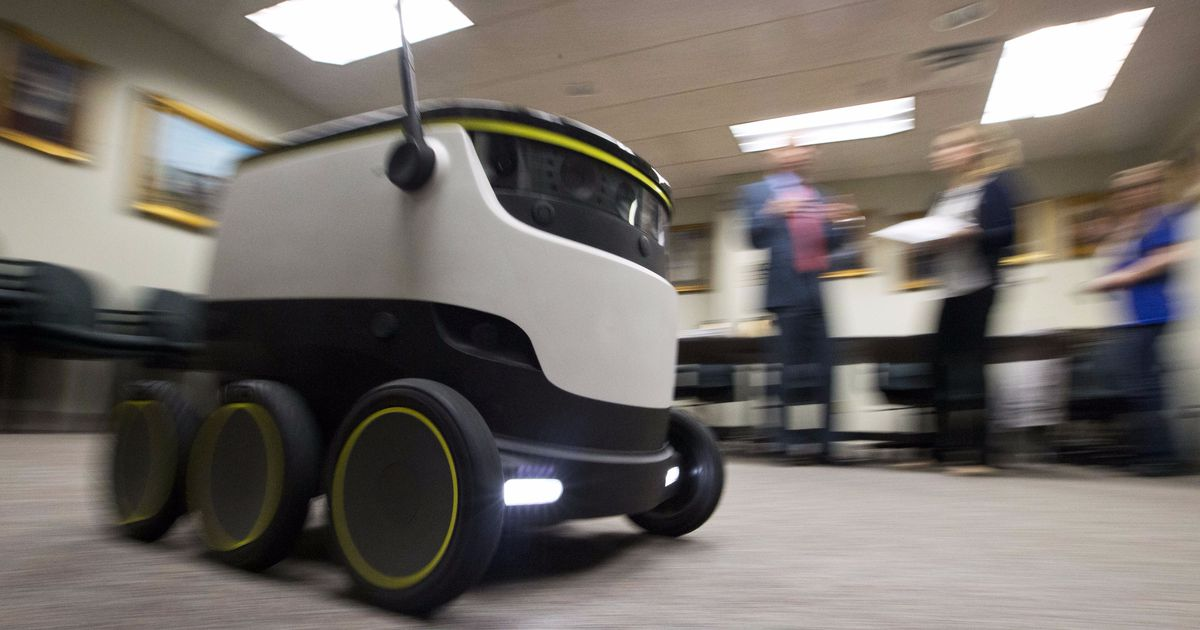Delivery bots can now send cheese and beer to Wisconsinites