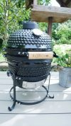 Igloo Kamado Mini BBQ Grill Smoker Ceramic Egg Charcoal Cooking Oven Outdoor