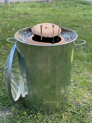 Tandoori Clay Oven Handmade Bbq Tandoor Brand New Great For Authentic Cooking